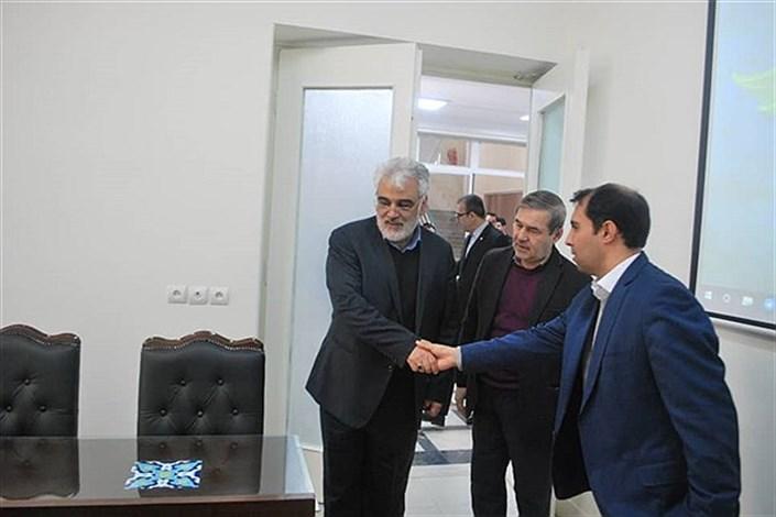 بازدید دکتر طهرانچی از دانشگاه هنرهای اسلامی – ایرانی استاد فرشچیان