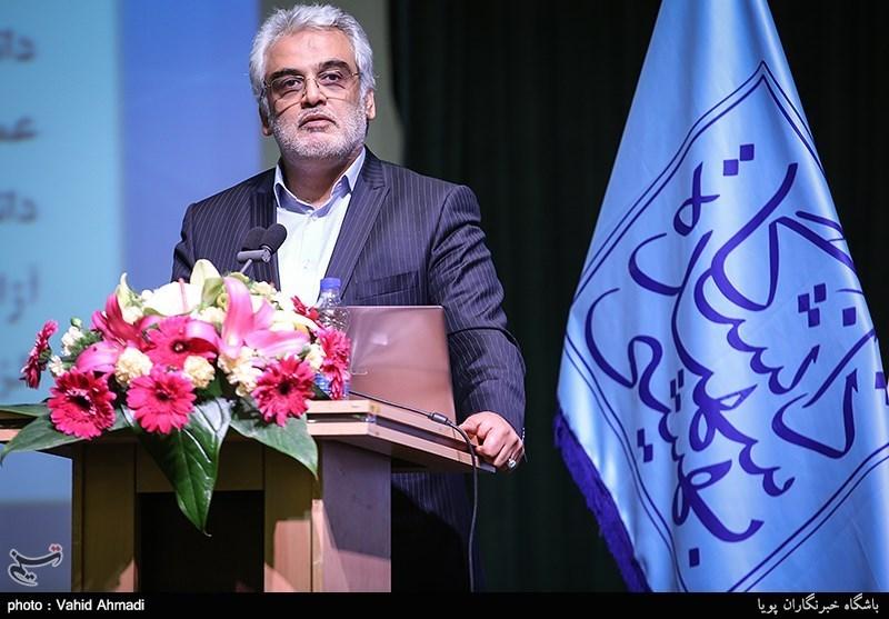 مراسم تکریم رئیس دانشگاه شهید بهشتی