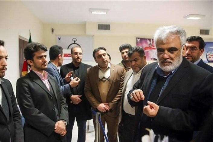 رئیس دانشگاه آزاد اسلامی از مرکز رشد و موزه واحد همدان بازدید کرد