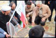دکتر طهرانچی از مناطق عملیاتی دوران دفاع مقدس بازدید کرد