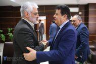 دیدار سفیر سوریه در ایران با رئیس دانشگاه آزاد اسلامی