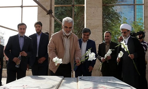 دکتر طهرانچی به منظور حضور در اردو های راهیان نور در واحد اهواز حضور یافت