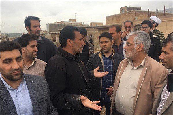 حضور دکتر طهرانچی در شهر سیلزده پلدختر/ کمکرسانی دانشگاه آزاد اسلامی به سیلزدگان