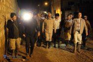 دومین حضور دکتر طهرانچی در شهر سیل زده پلدختر