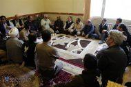 جلسه قرارگاه جهادی دانشگاه آزاد اسلامی در شهر سیل زده پلدختر
