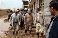 دکتر طهرانچی از مناطق سیلزده خوزستان بازدید کرد