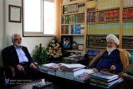 دکتر طهرانچی با آیت الله ناصری نماینده ولی فقیه در استان یزد دیدار کرد