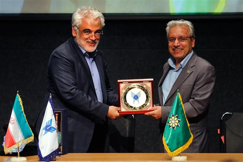 تفاهم نامه همکاری دانشگاه آزاد و پایگاه استنادی علوم جهان اسلام ISC امضا شد