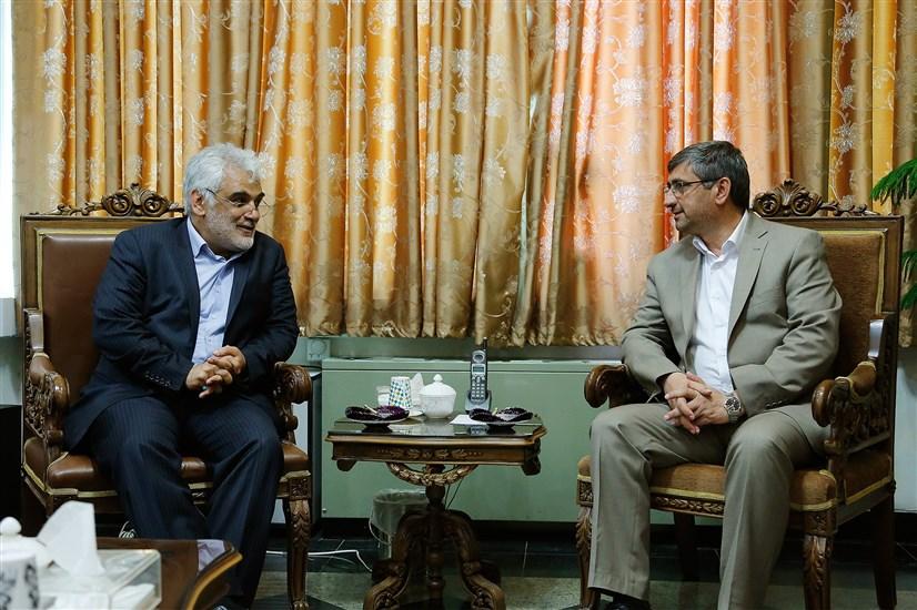 دیدار دکتر طهرانچی با استاندار همدان