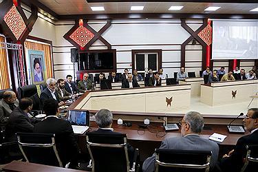 مراسم ویژه سالروز ولادت امام رضا(ع) با حضور دکتر طهرانچی در دانشگاه آزاد اسلامی