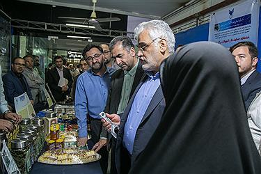 بازدید دکتر طهرانچی از دستاوردهای پژوهشی دانشگاه آزاد اسلامی استان گلستان