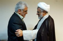 دیدار دکتر طهرانچی با نماینده ولی فقیه در استان هرمزگان و امام جمعه بندرعباس