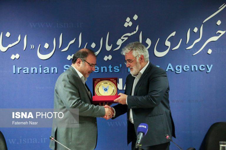 بازدید رئیس دانشگاه آزاد اسلامی از ایسنا