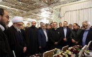 اهدای کاپهای قهرمانی تیم رباتیک دانشگاه آزاد قزوین به موزه آستان قدس رضوی