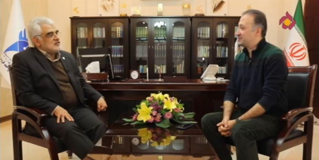 برنامه مدیر مسئول با حضور دکتر طهرانچی-رئیس دانشگاه آزاد اسلامی- قسمت ۲