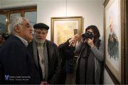 نمایشگاه آثار هنری با محوریت ابعاد زندگی سپهبد شهید «حاج قاسم سلیمانی» افتتاح شد