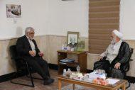 رئیس دانشگاه آزاد اسلامی با حجتالاسلام والمسلمین قرائتی دیدار کرد