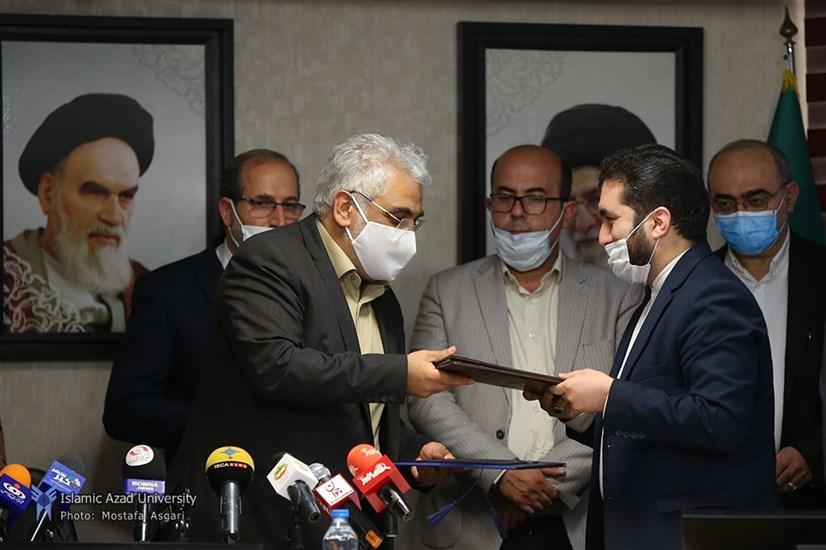 انعقاد تفاهمنامه همکاری دانشگاه آزاد اسلامی و شورای عالی استانها