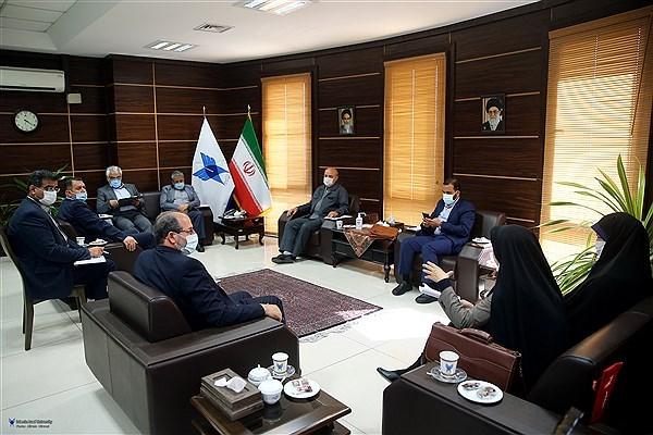 جلسه هماندیشی اعضای هیئت رئیسه فراکسیون دانشگاه آزاد اسلامی برگزار شد