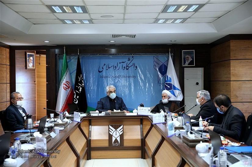 پانزدهمین جلسه هیات امنای دانشگاه آزاد اسلامی استان تهران برگزار شد