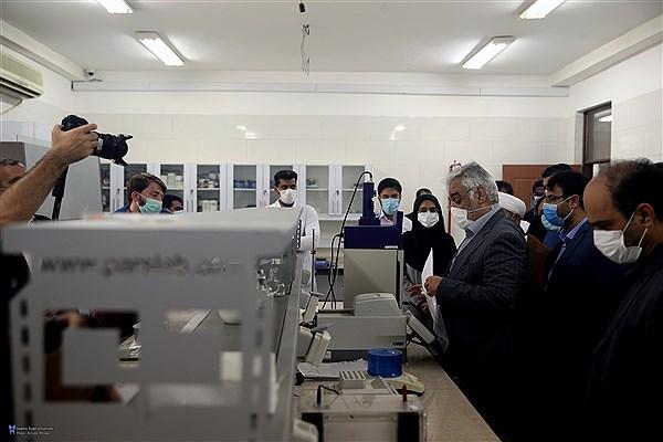 بازدید دکتر طهرانچی از دانشگاه آزاد اسلامی واحد قشم