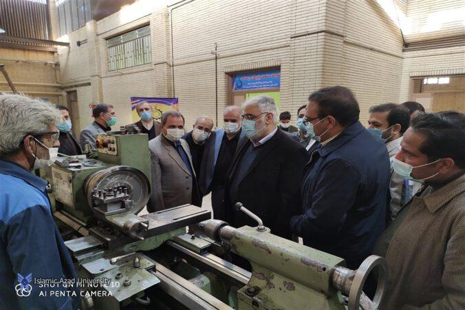 گزارش کامل بازدید دکتر طهرانچی از واحدهای سیرجان و جیرفت