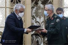 ستادکل نیروهای مسلح و دانشگاه آزاد اسلامی ۲ تفاهمنامه همکاری امضا کردند
