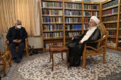 رئیس دانشگاه آزاد اسلامی با مراجع عظام تقلید دیدار کرد