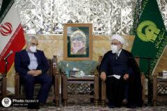 آستان قدس رضوی علاقمند به استفاده از ظرفیتهای علمی دانشگاه آزاد اسلامی است